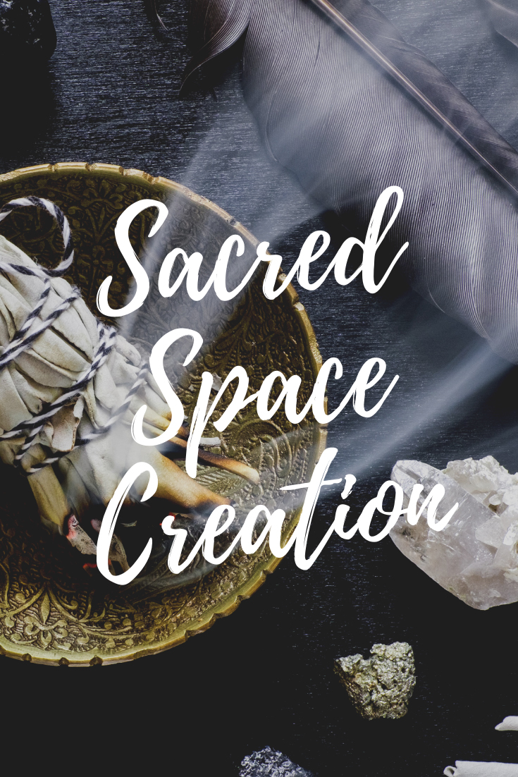 Sacred Space Creation energetically clean and balanced place Aïsha Zafirah
